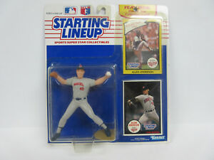 1990 Edition Starting Lineup Figure  Allan Anderson 1986 Rookie Year Collectible