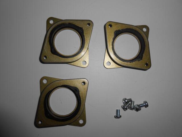 5 x Nema 17 Steel /& Rubber Dampers Stepper Motor DIY 3D Printer Damper