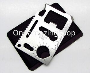 11-in-1-Credit-Card-Wallet-Purse-Pocket-Multi-Function-Survival-Camping-Tool-New