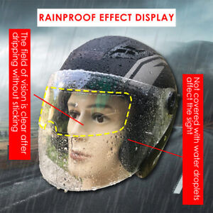 Rainproof and Anti-Fog Film for Motorcycle Helmet Universal Helmet Patch Film Anti Fog Film Helmet Visor Motorcycle Helmet Shield
