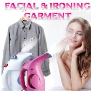 Mini-Garment-Steamer-Facial-Ironing-Steamer-Clothes-Face-Travel-EU-Plug-Portable