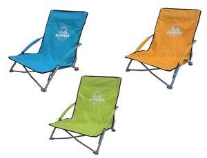 Chaise-de-plage-basse-pliante-et-confortable-siege-de-jardin-neuf