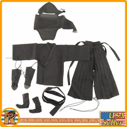 Black Full Ninja Clothes Set #1-1//6 Scale Details about  /Undead Ninja 006 EDSTAR Figures
