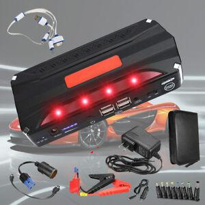 12V-68800mAh-Auto-Jump-Starter-Booster-Caricabatterie-Avviatore-4-USB-Emergenza