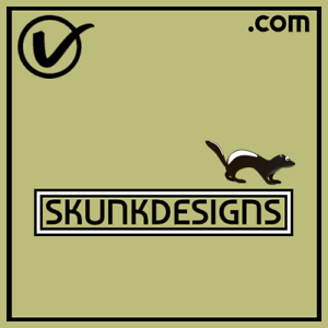 SkunkDesigns-com-COOL-Design-Theme-COM-Domain-Name-For-Business