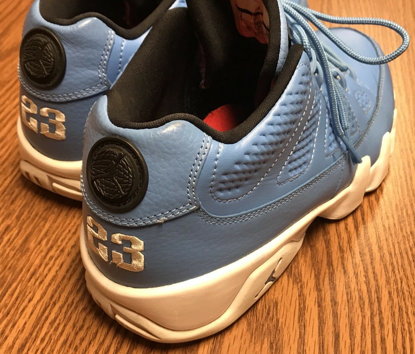 cheap for discount c7163 f3952 ... Nike 832822 401 Air Jordan 9 9 9 Retro Low Pantone University Blue  White Men s Sz ...