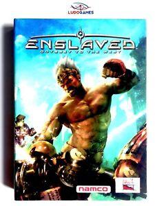 Enslaved-Press-Kit-Xbox-360-Parfait-Etat-Videogame-Videojuego-Retro-Vintage