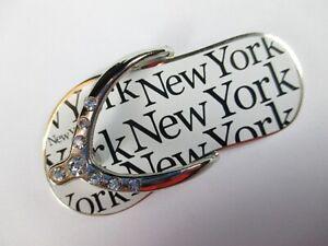 New-York-Metal-Iman-Chanclas-Recuerdo-Ee-uu-America-Nuevo