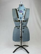 Vintage Sally Stitch Push Button Dress Form Size A Bust 32 To 39 Hips 34 To 41