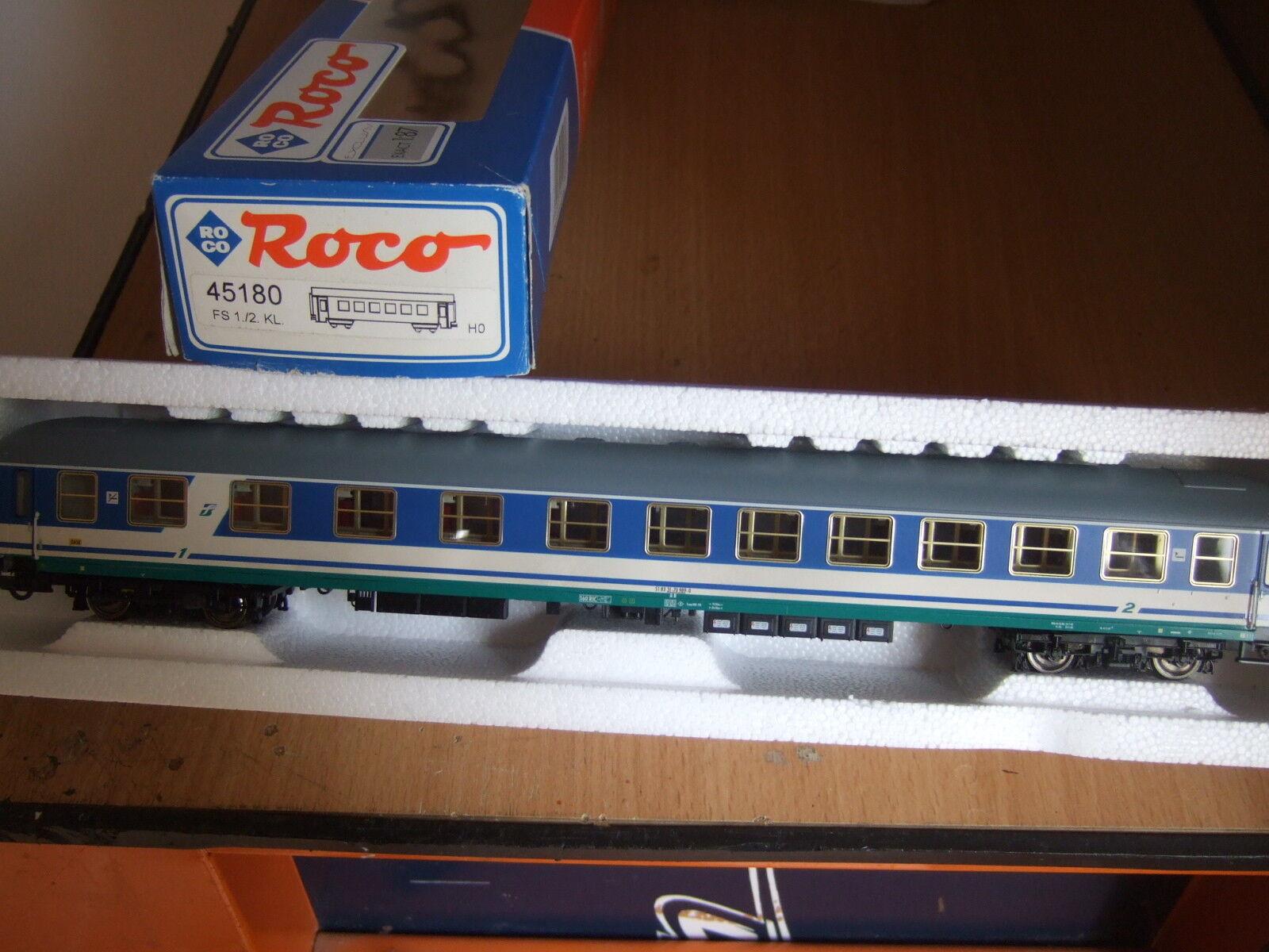 ROCO 45180 CARROZZA FS 1  2 CLASSE SCALA HO 1 87
