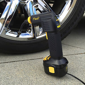 Air Dragon Tire Inflator >> Airman Cordless or 12V Air Compressor Portable Tire ...