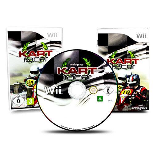 Nintendo Wii Spiel KART RACER in OVP mit Anleitung
