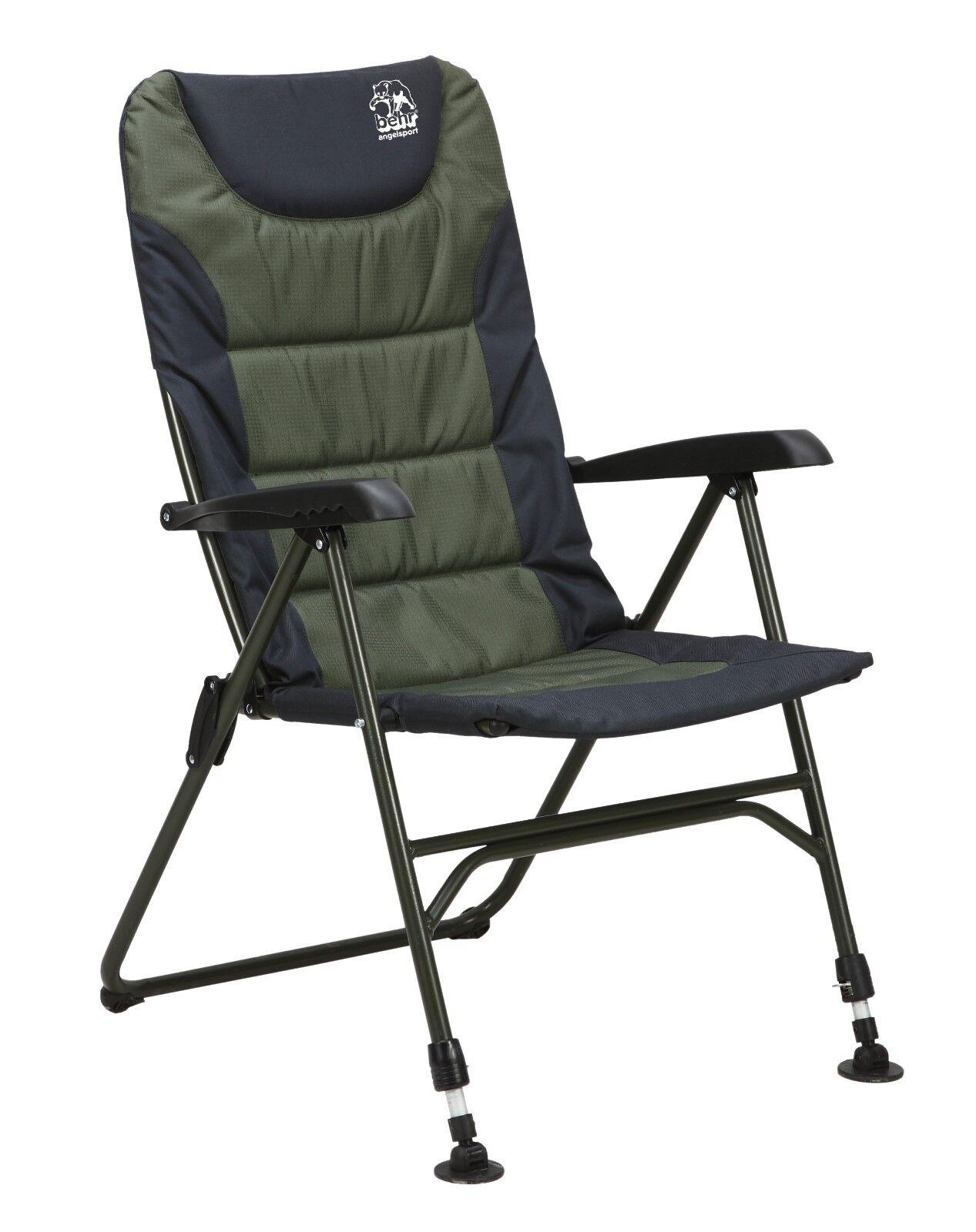 Behr Anglerstuhl Trendex Comfort Comfort Comfort Telescopic PLUS Angelstuhl Campingstuhl 9116013 0adb54