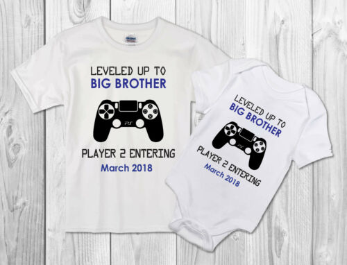 Big brother player 2 Baby Vest or tshirt Pregnancy announcement