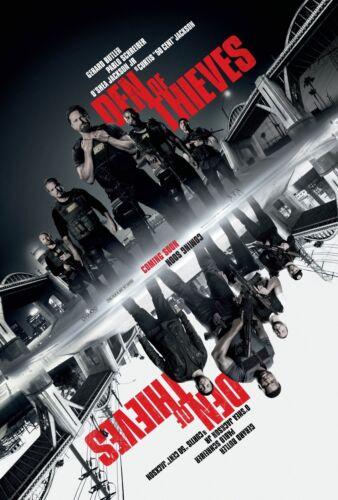 DEN OF THIEVES MOVIE POSTER FILM A4 A3 ART PRINT CINEMA