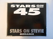 "STARS ON 45 : STEVIE WONDER 12"" MEDLEY (13.02 REMIX) - [ CD-MAXI PORT GRATUIT ]"