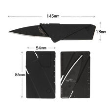 Multi-function Folding Wallets Knife Cardsharp Credit Card Camping Tools Outdoor