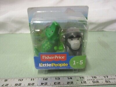 Fisher Price Little People New Zoo Safari Share Care Animal Alligator 2018 Toy