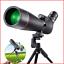 45Â ° de inclinación del ocular 80mm HD Objetivo Disparo hutact telescopio terrestre 20x-60x80