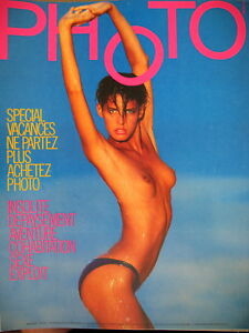 magazine-PHOTO-N-239-TIBURZI-SPECIAL-VACANCES-CURTO-KNIPS-POINOT-ELLIS-1987