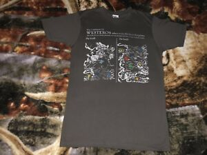 Details about GAME OF THRONES T Shirt Small Gray Continent Of Westeros on game of thrones pokemon shirt, game of thrones stark shirt, game of thrones school shirt, united states map shirt, africa map shirt, game of thrones beer bottles, fargo map shirt, game of thrones table book, westeros map shirt,