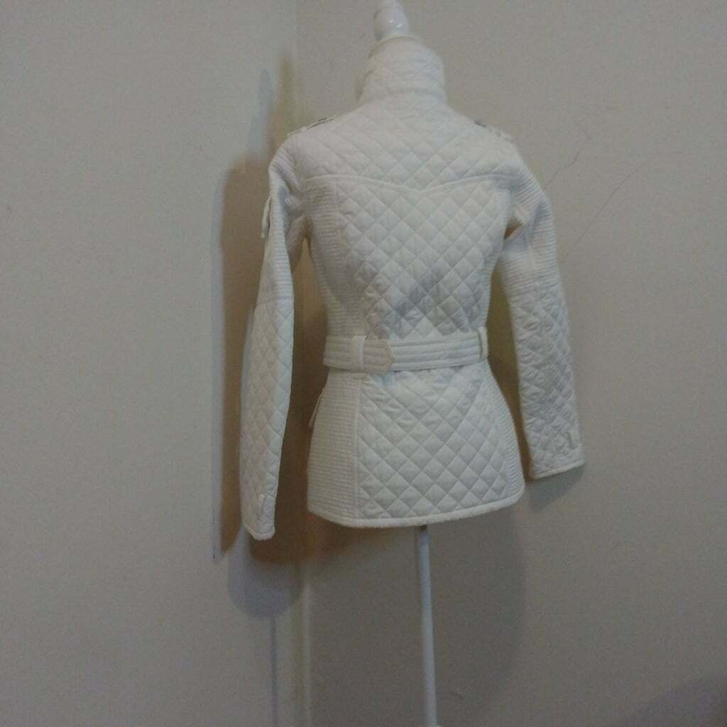 GUC QUILTED BARBOUR BELTED JACKET - image 3