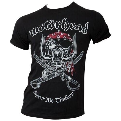 Noir T-Shirt Motorhead /'Shiver Me Timbers/'