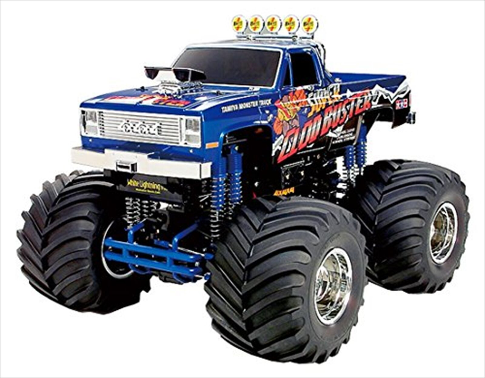 Tamiya 1 10 RC coche No.518 Super Clod Buster 4X4X4 Series 2012 Off-Road 58518