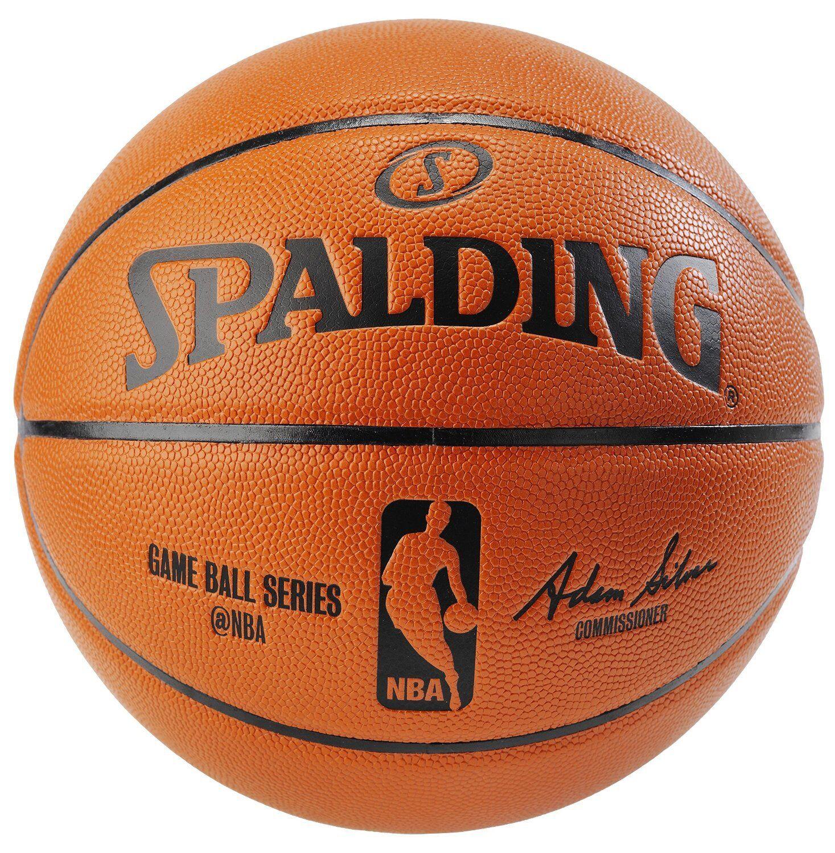 Spalding NBA Replica Indoor Outdoor Game Ball, orange, Size 29.5-Inch