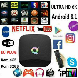 Q-Box-Plus-Quad-Core-4GB-32GB-Android-8-1-TV-4K-HD-Smart-Player-WI-FI-TV-CAJA