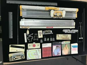 Singer-321-Memo-Matic-Knitting-Machine-Inc-Accessories-Manual-Extras-LARGE-LOT