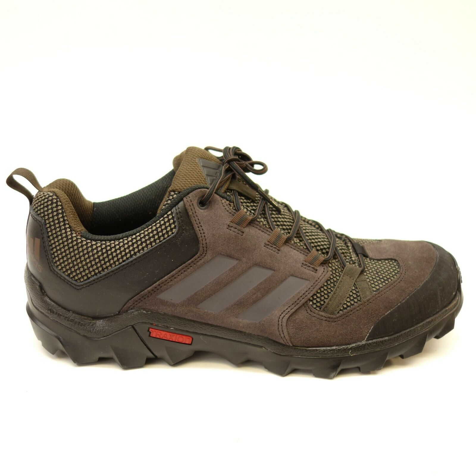 New Adidas Outdoor Mens Caprock Hiking Trail Running Earth Tone shoes Size 12