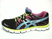 Asics Womens Gel Blur 33 Running Shoes Sneakers Turquoise Pink US 8.5 Excellent