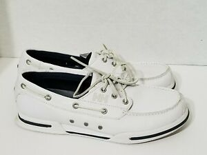 Helly Hansen White Boat Deck Shoes 9.5