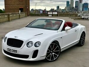 Bentley Continental Gtc Convertible Supersports White