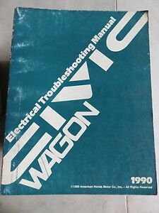1990 honda civic wagon service repair manual electrical wiring rh ebay ie