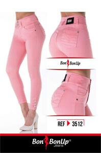5cbb1ac7c8 La foto se está cargando Jeans-colombianos-Butt-Lifter-fajas-colombianas- levanta-cola-