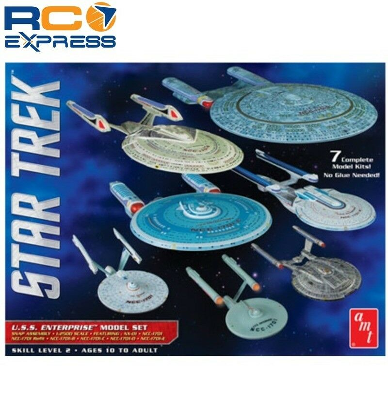 AMT 1 2500 Star Trek USS Enterprise Box Set Snap AMT954