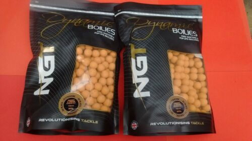 NGT DYNAMIC BOILIES 2 BAGS 15mm MANGO /& CREAM WASHED OUT 900g  WAFTERS/&POP-UPS