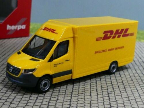 1//87 Herpa MB Sprinter 18 Paketverteilerfahrzeug DHL 095297