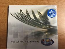 KFOG Live from the Archives Vol. 13 (Keane, David Gray, Feist) Factory sealed