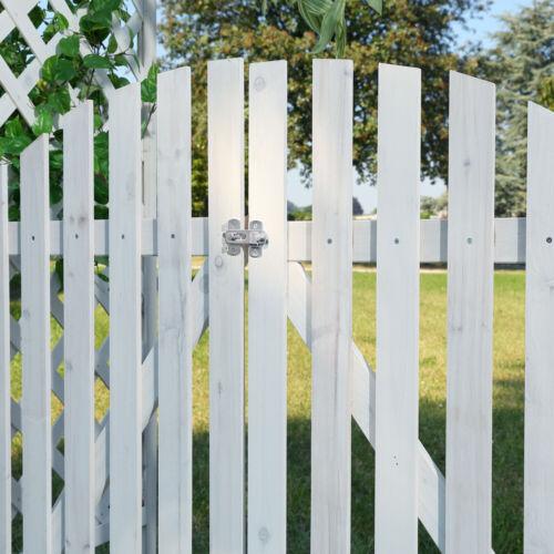 Spalier Pergola Rankhilfe Rosenbogen Holz Torbogen Gartenbogen Rank Gitter Tür