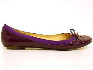 BUFFALO-London-Ballerinas-Gr-37-Damen-Leder-Lila-Chaussures-Scarpe-Schuhe