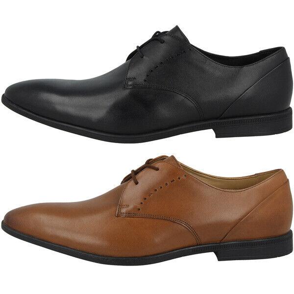 Clarks Bampton Lace Men Schuhe Herren Halbschuhe Business Leder Schnürschuhe