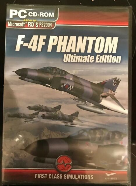 F-4f Phantom Ultimate Edition PC Add-on Flight Simulator 2004 & X Fs2004 FSX