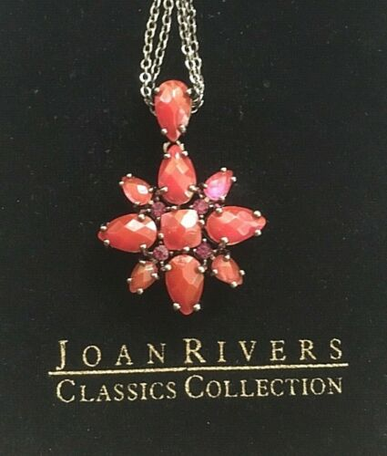 JOAN RIVERS FIFTEENTH ANNIVERSARY PINK CRYSTAL FLO
