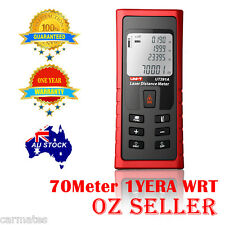 NEW UNI-T UT391A Laser Distance Meter Tester Range Finder 0.1m-70m Area Volume