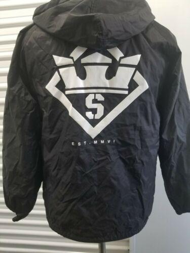 Supra Jacket Stencil Hood Coaches (black)