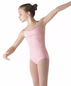 SO DANCA Girls Microfiber Asymmetrical Back Strap Leotard Black Blue NWT Red