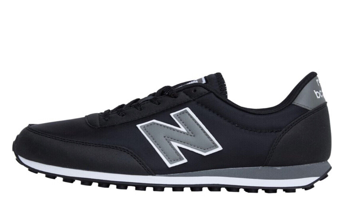 New Balance 410 Mens Trainers Casual Sneakers Black/Grey Size UK 6 new